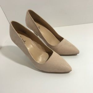 Qupid Pointy Toe Pumps